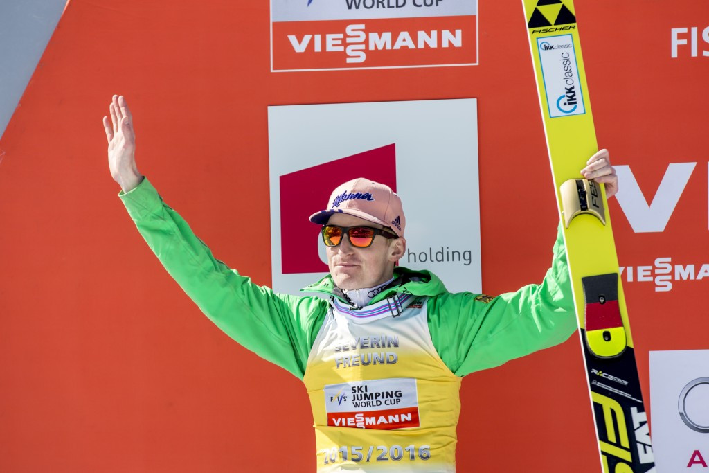 Severin Freund should resume ski jumping training in four months