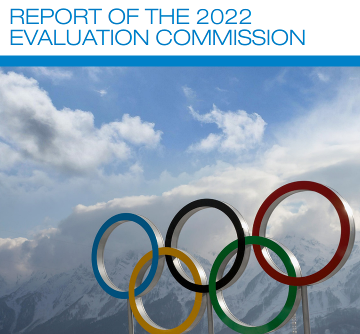 The IOC Evaluation Commission criticises and praises aspects of the bids from both Almaty and Beijing ©IOC