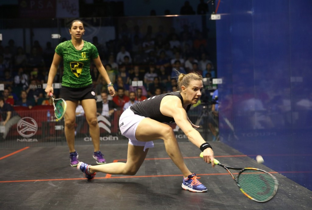 Laura Massaro is searching for a second world title ©PSA