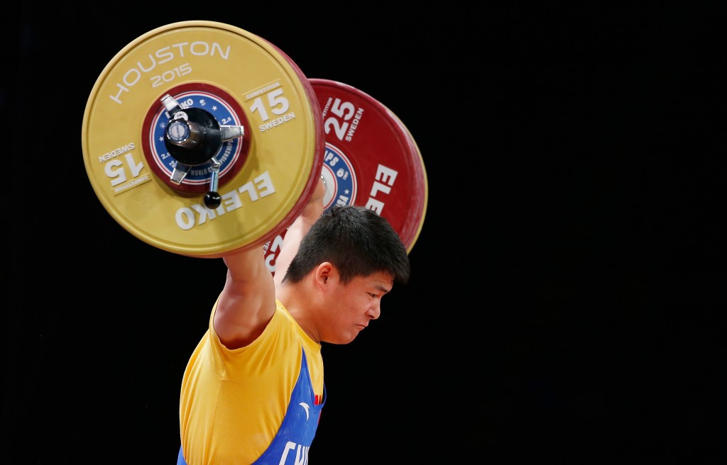 China's Su Ying was forced to settle for bronze in the men's 85kg event