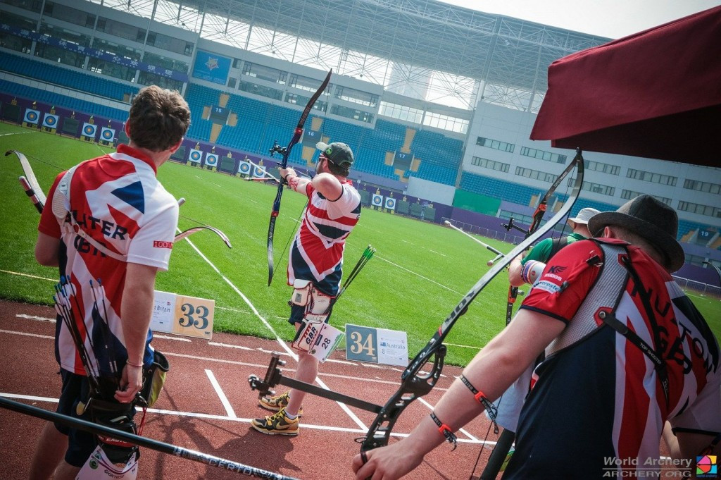 South Korea overcome surprise British challenge to reach men's recurve final at Archery World Cup in Shanghai
