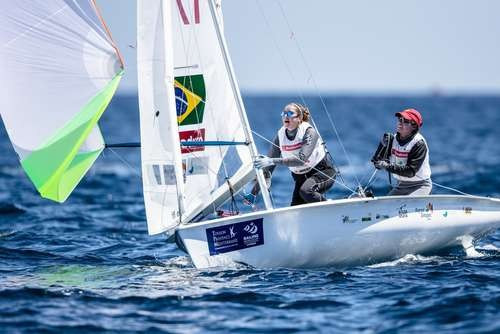Brazilian 470 pair chasing third victory at Sailing World Cup leg in Hyères