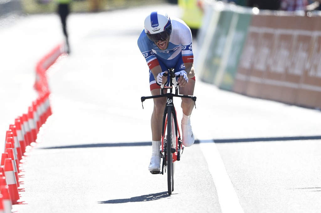 Pinot rises to second at Tour de Romandie after stage three time trial triumph