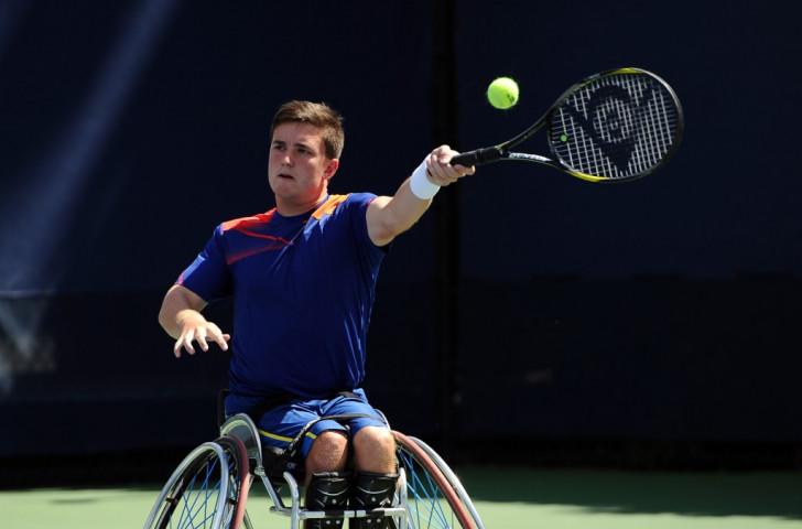 Gordon Reid sealed Great Britain's success, beating world number six Nicolas Peifer