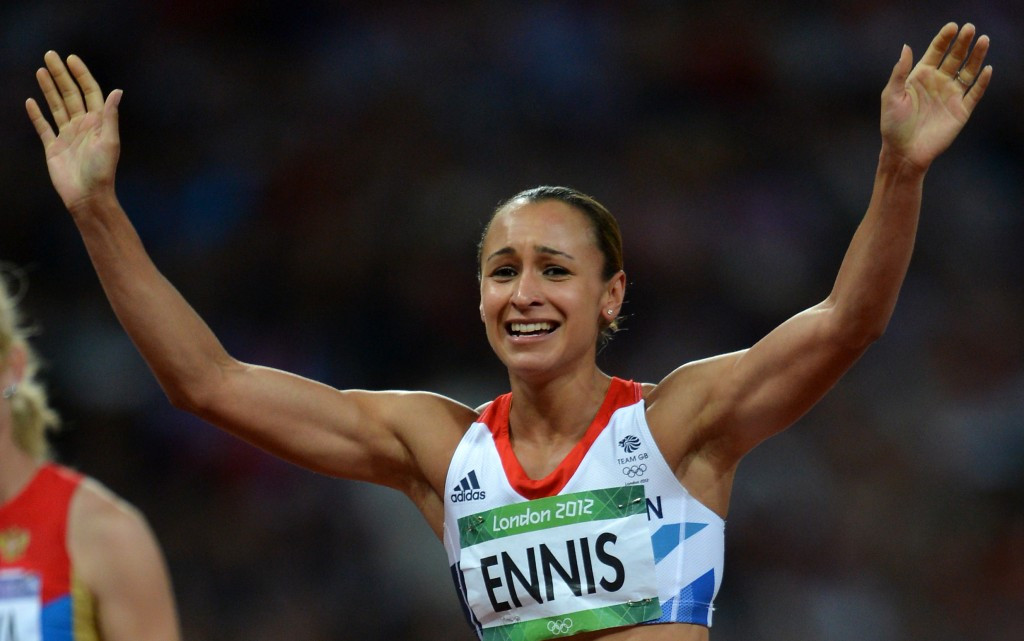 Jessica Ennis-Hill won one of Britain's most memorable gold medals at their home Olympic Games in London