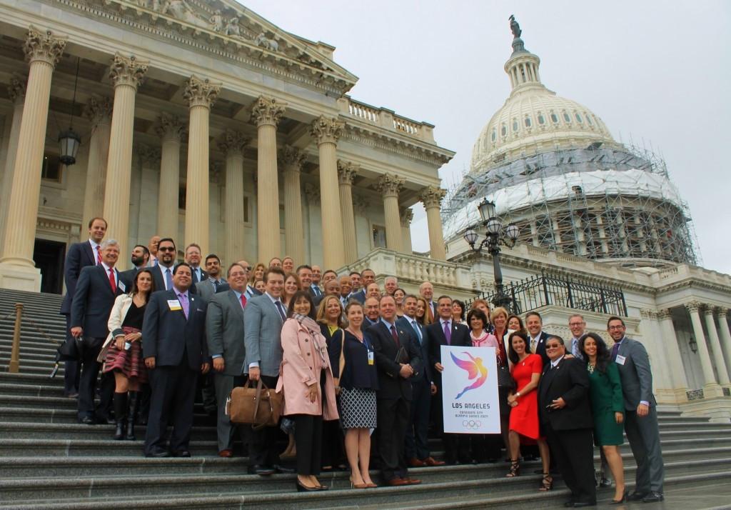 Bipartisan resolution backs Los Angeles 2024 at US Capitol