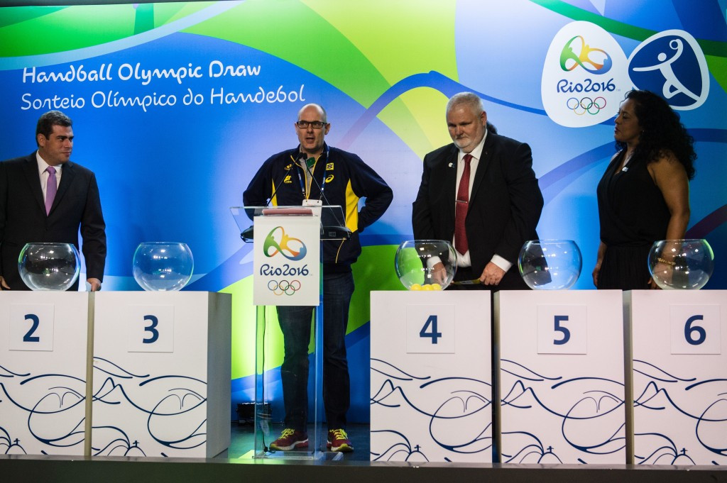 Brazil's women opt to join tough group at Rio 2016 handball draw