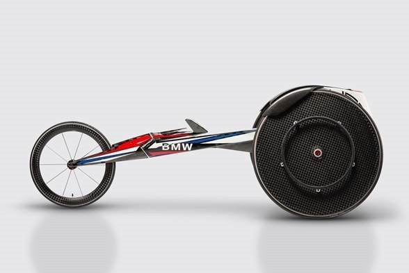 BMW unveils new racing wheelchair for US Paralympians at Rio 2016