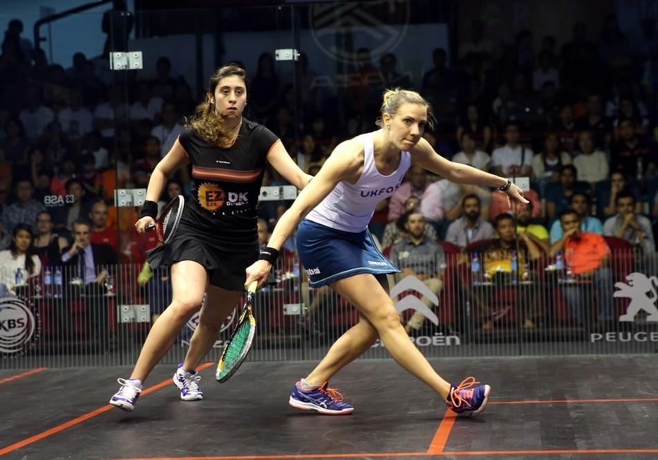 Laura Massaro had won the first two games in Kuala Lumpur