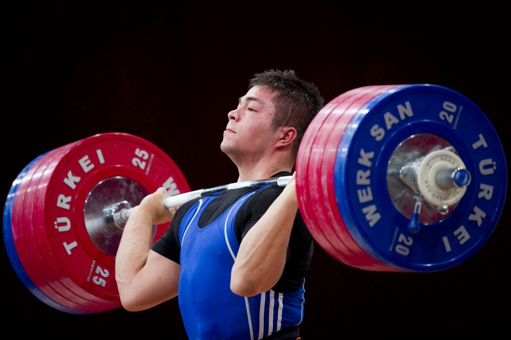 Vladimir Sedov claimed gold in the men's 94kg competition ©Getty Images