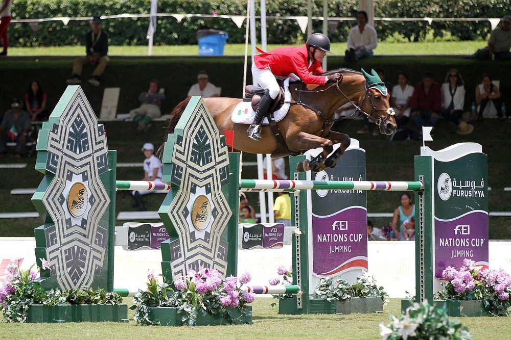 Mexico earn first FEI Nations Cup victory since 1990 after strong jumping display