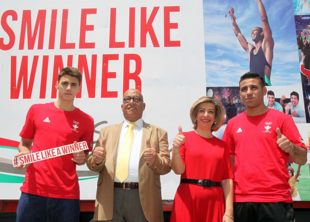 Jordan Olympic Committee launch Smile Like a Winner campaign