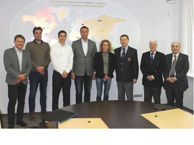 EOC Olympic Games Commission hold pre Rio 2016 meeting in Minsk