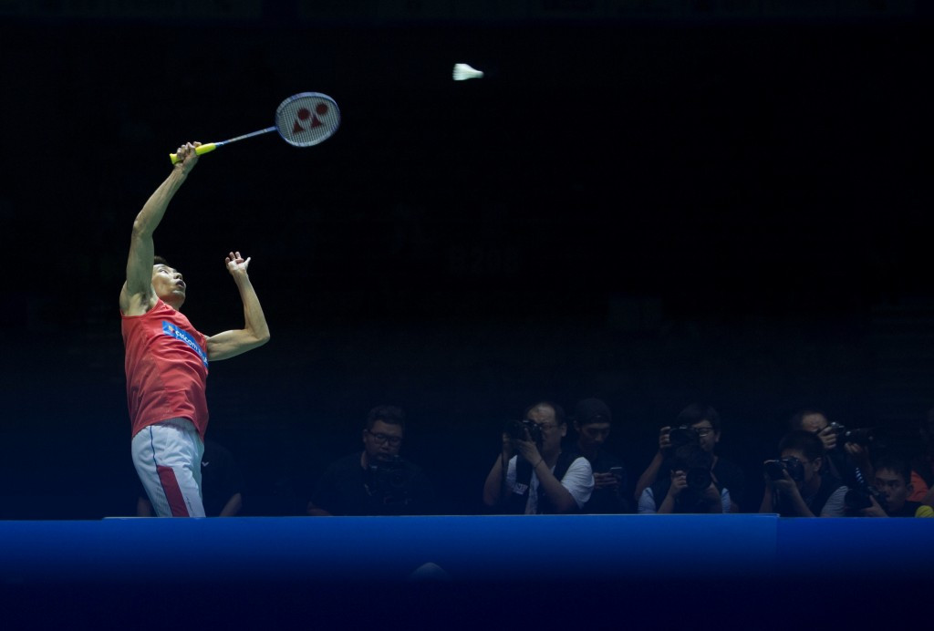 Lee defeats Olympic champion to reach Badminton Asia Championships final