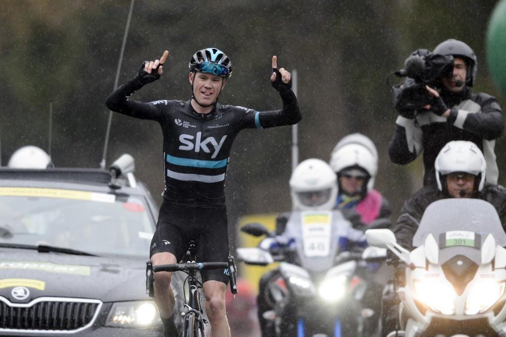 Froome claims solo stage four triumph at Tour de Romandie