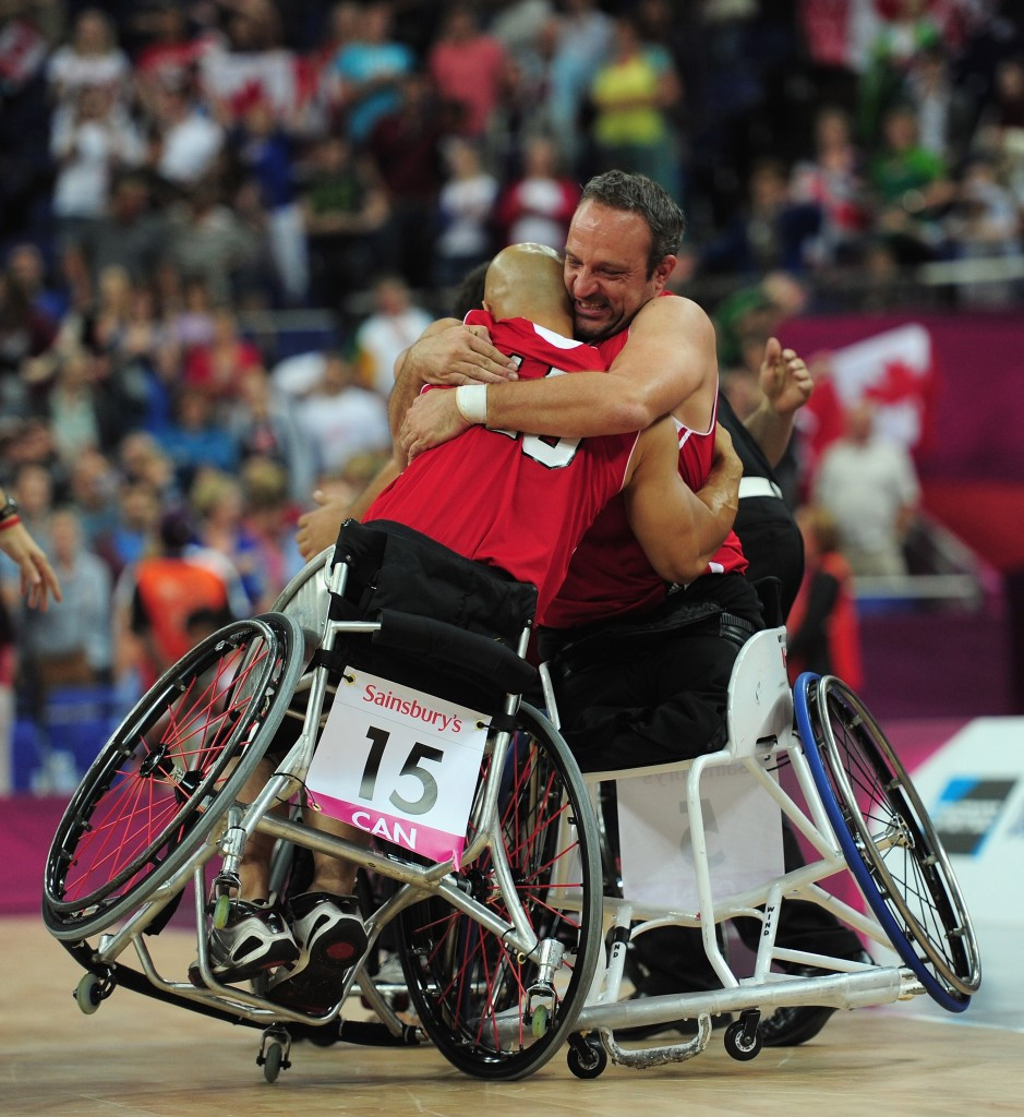 Paralympic champions Canada, will begin as favourites to win the men's competition ©Getty Images