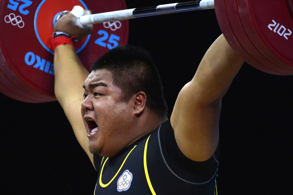 Chinese Taipei's Chen Shih-chieh successfully defended his men's over 105kg title on the final day of action at the Asian Weightlifting Championships ©Getty Images