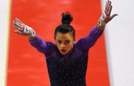 Teenage talent Downie claims double gold at FIG World Challenge Cup in Osijek