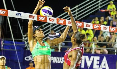 Home pairs set up all-Brazilian women's final at FIVB Fortaleza Open
