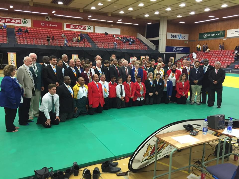 The Commonwealth Judo Championships took place at the Nelson Mandela Metropolitan University in Port Elizabeth