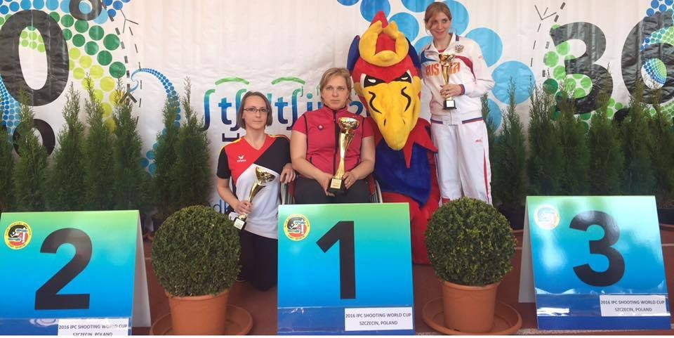 Slovak wins gold on opening day of IPC Shooting World Cup in Szczecin