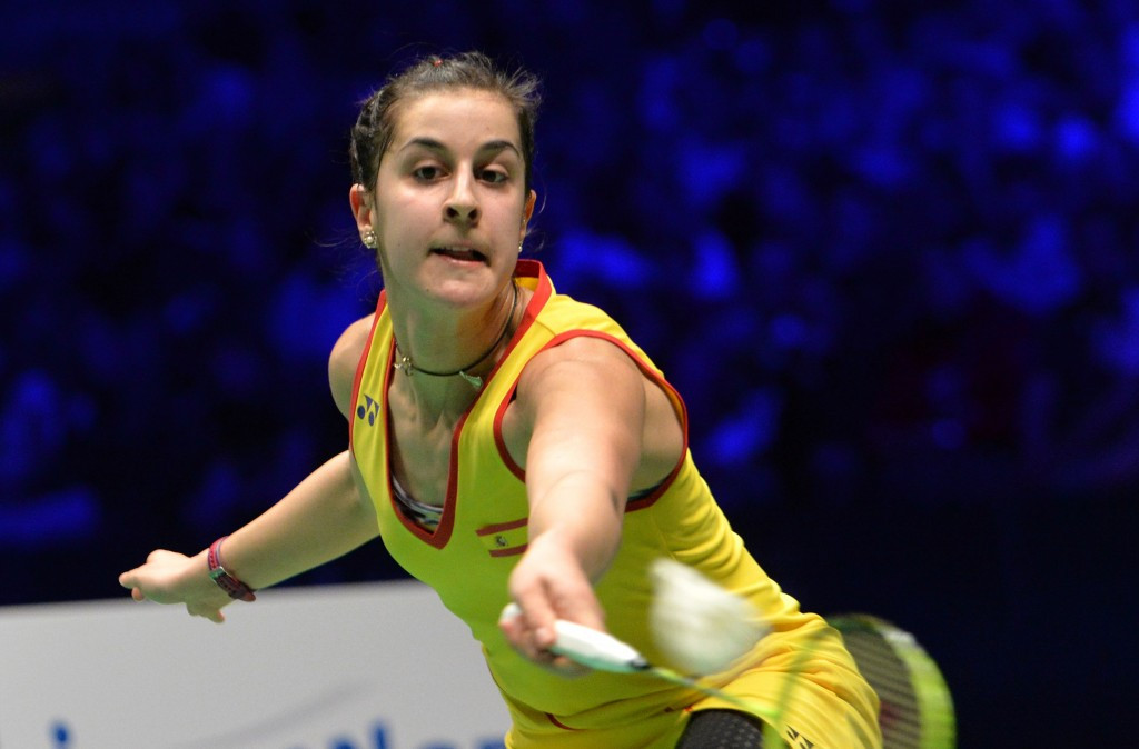 Marin goes down gears at BWF World Tour Finals but Axelsen speeds on