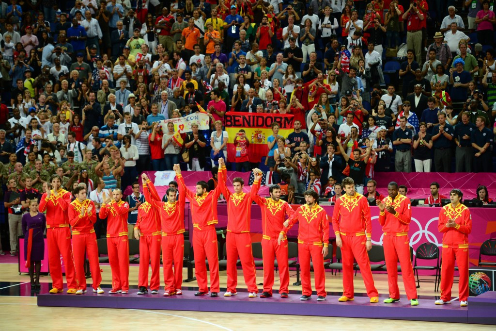 Olympic silver medallists Spain are one of the countries involved in the FIBA Europe row ©Getty Images