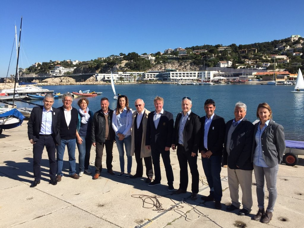 Paris 2024 Bid Committee members will today meet officials from World Sailing at the picturesque Marina Marseille, the proposed venue for Olympic sailing in eight years' time ©Paris 2024