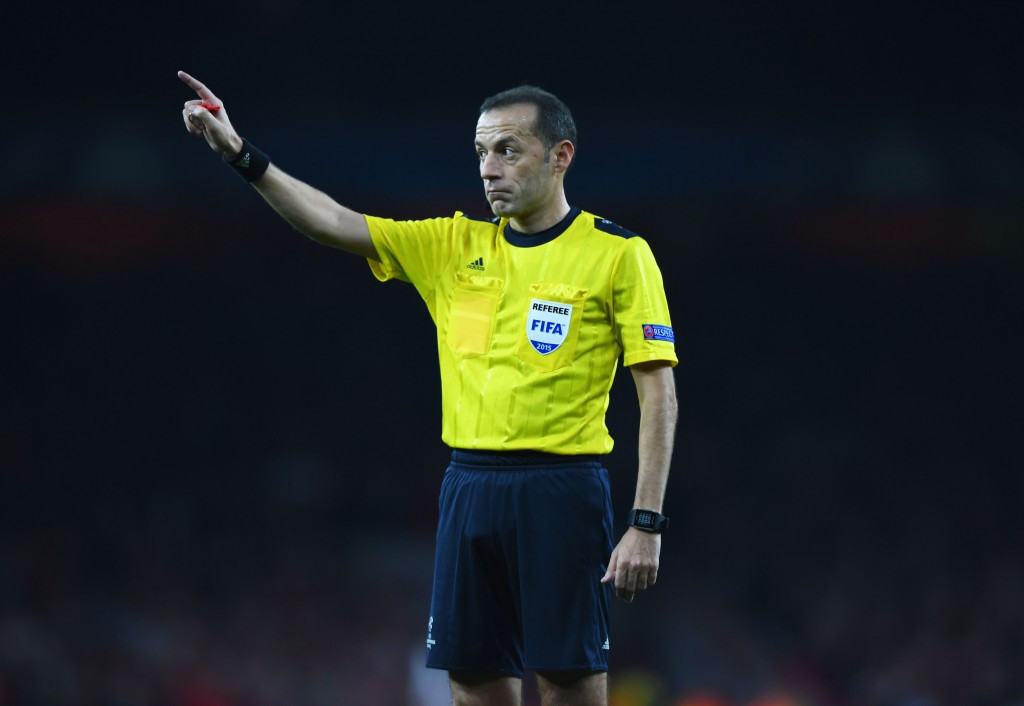 Champions League final referee Çakır among officials for Rio 2016 football tournament