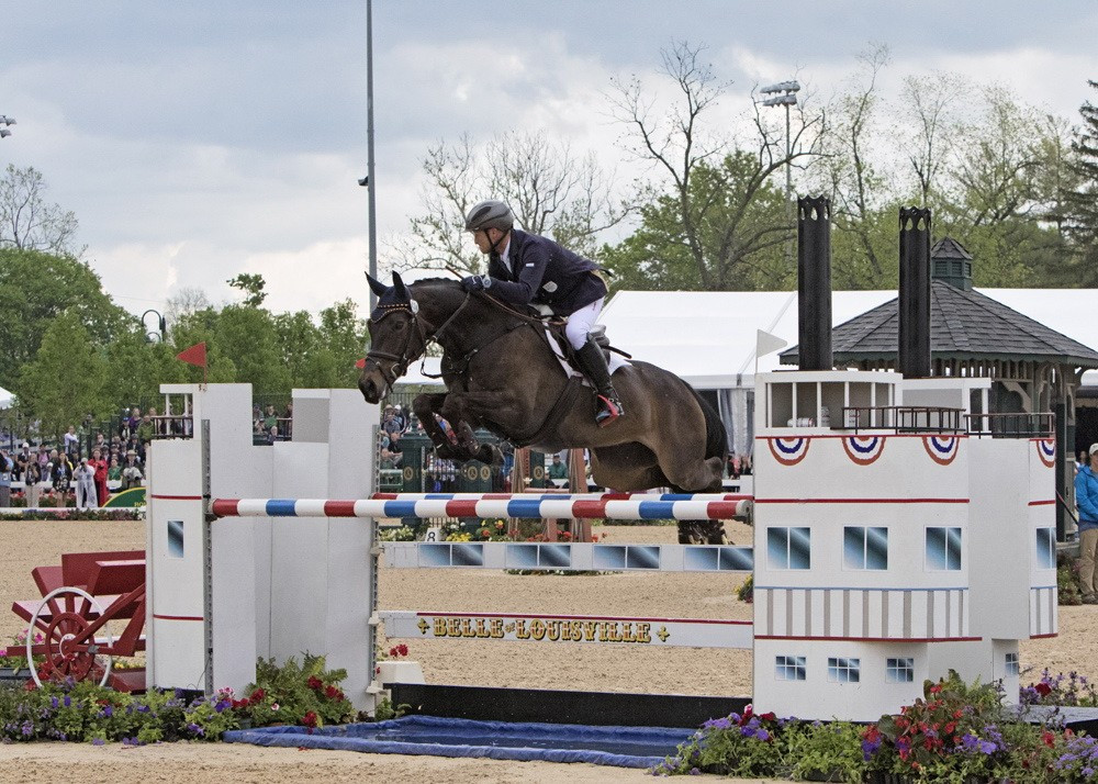 Michael Jung dominated in Kentucky ©FEI