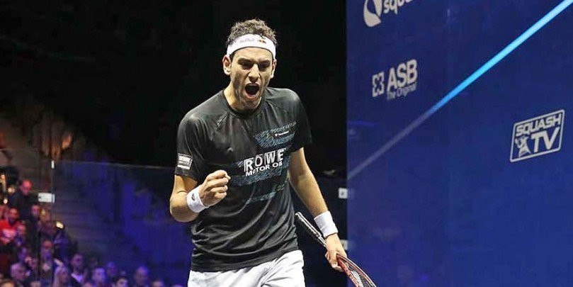 Mohamed Elshorbagy remains at the top of the men's rankings