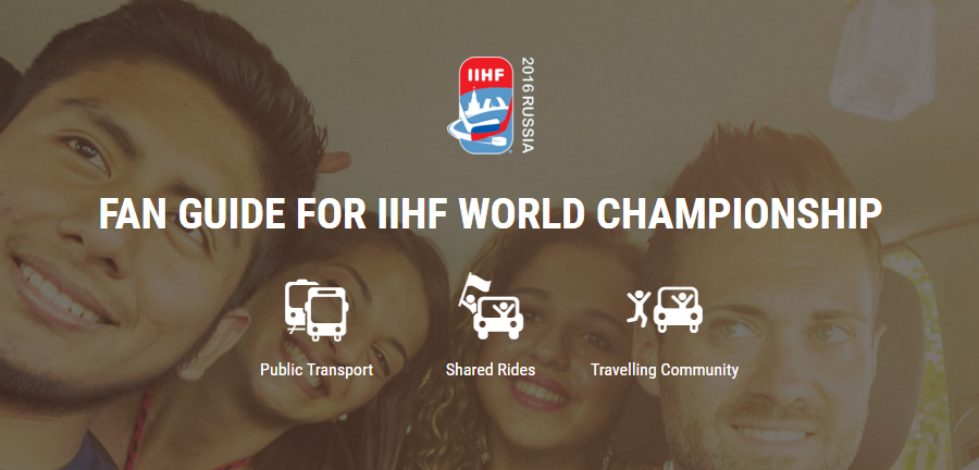 An online guide has been launched ahead of the IIHF World Championships ©IIHF