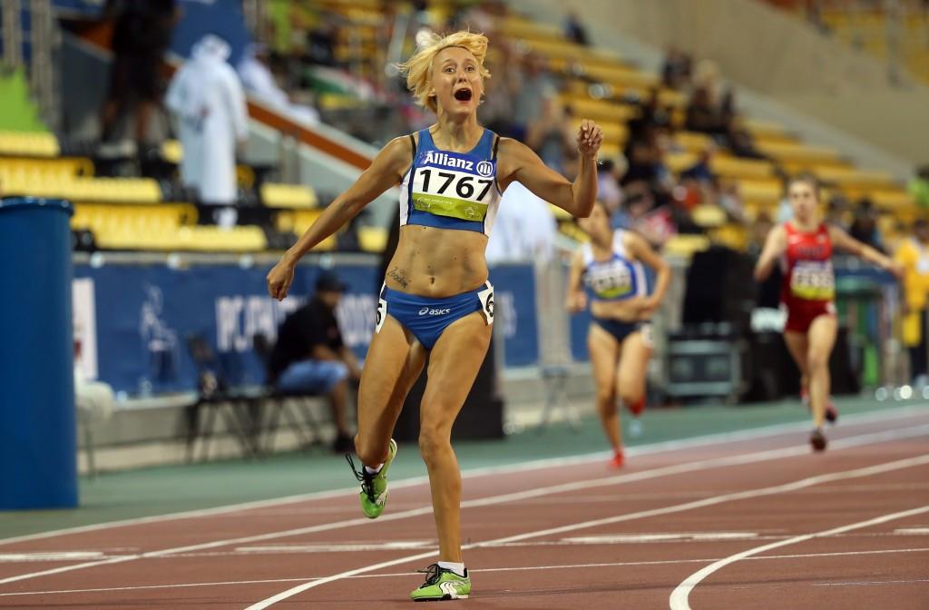 Italian sprinters visit school in Rome to promote IPC Athletics European Championships
