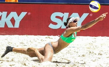 Brazil celebrate double gold at FIVB Fortaleza Open
