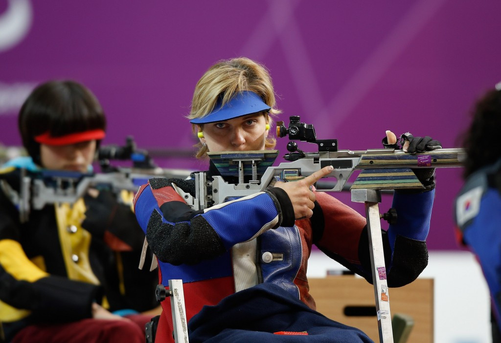 Slovakia's Veronika Vadovicova secured her second gold medal at the IPC Shooting World Cup in Polish city Szczecin ©Getty Images