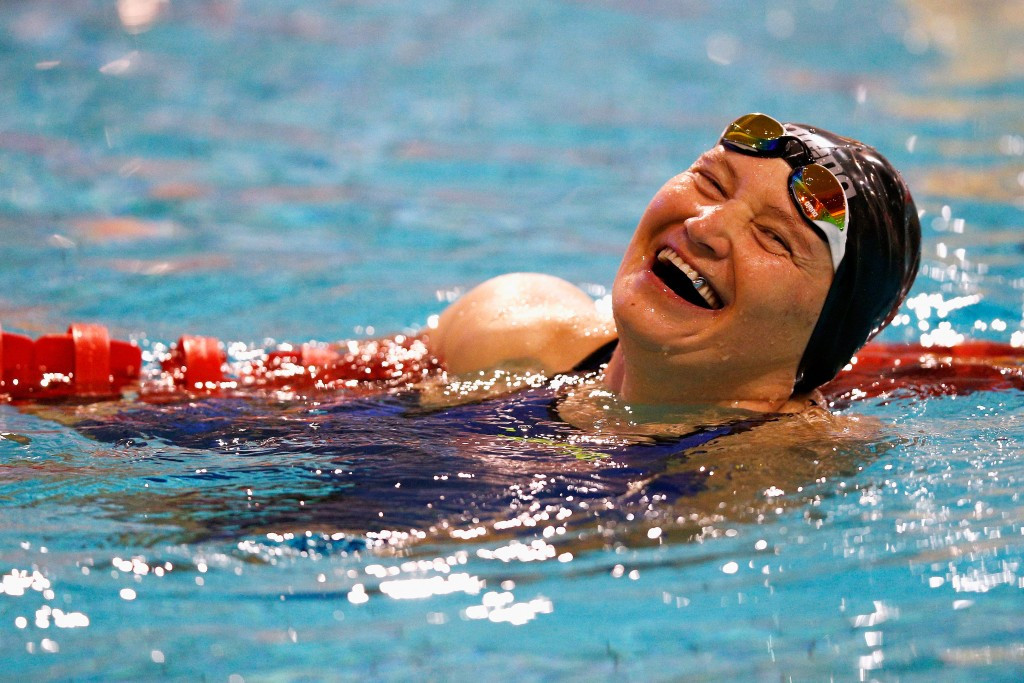 Kazakhstan's Gabidullina breaks world record on day two of IPC Swimming European Open Championships