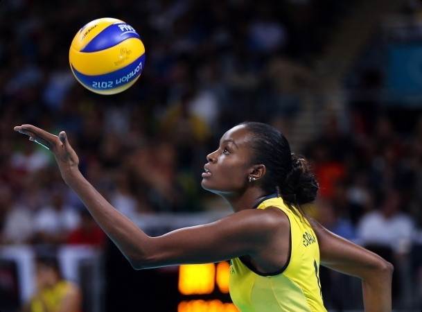 Double Olympic volleyball champion Fabiana named first torchbearer ahead of Rio 2016 flame arriving in Brazil