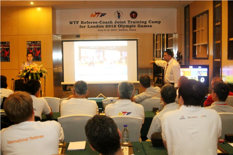 World Taekwondo Federation to host referee-coach joint training camp ahead of Rio 2016