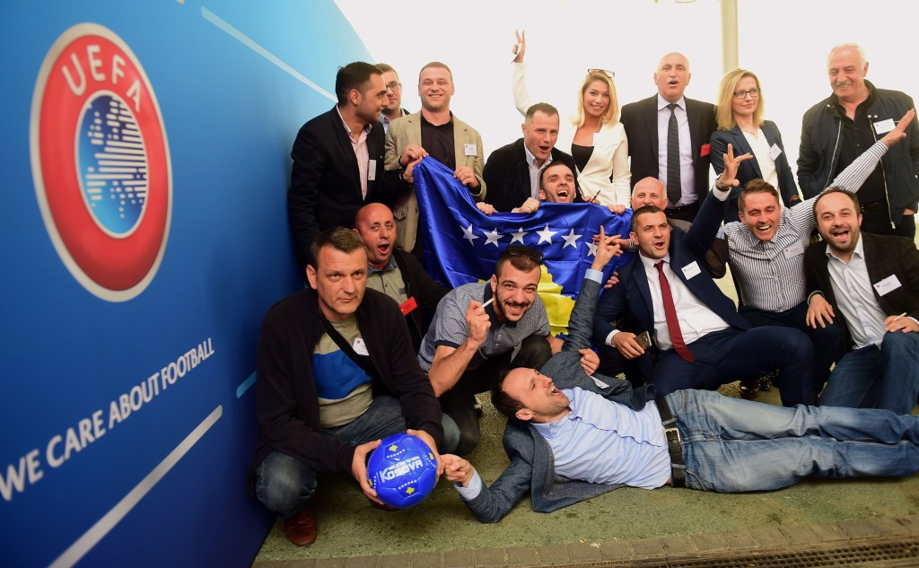 Kosovo accepted as member of UEFA to pave way for FIFA application