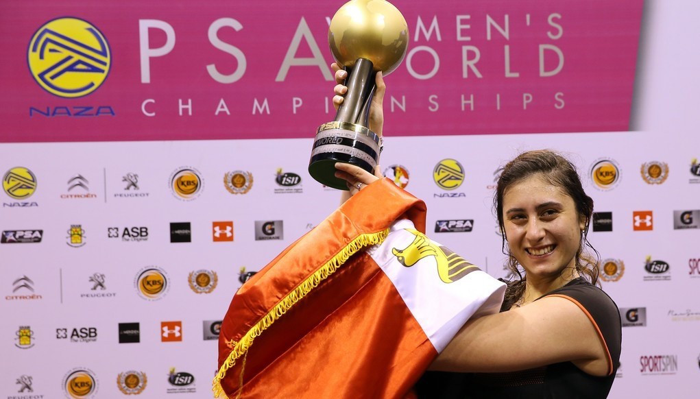 Egypt's Nour El Sherbini is the reigning women's world champion