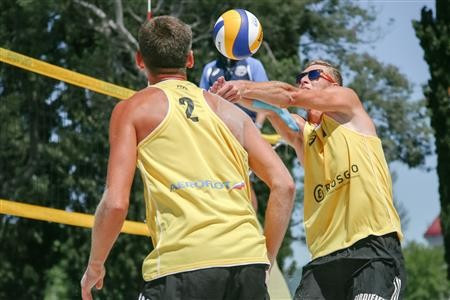 Ukrainian pair claim surprise wins to reach FIVB Sochi Open main draw