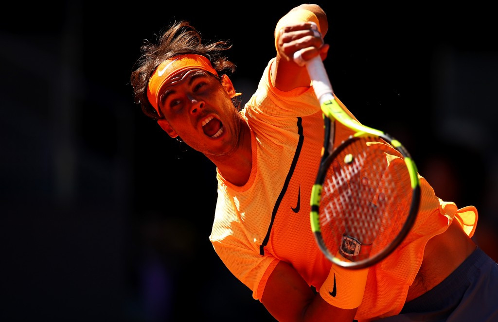 Nadal eases into third round of Mutua Madrid Open