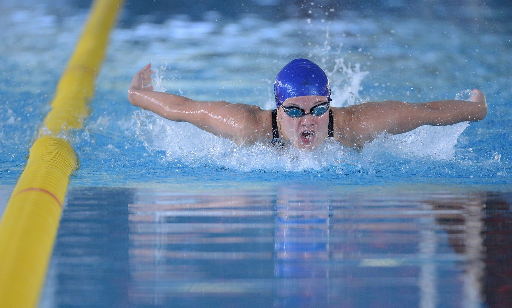 Russia's Ryabova breaks world record on way to victory at IPC Swimming European Open Championships