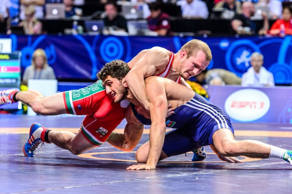 Bulgaria's Vladimir Dubov made the drop to 57kg and secured a ticket to Rio 2016