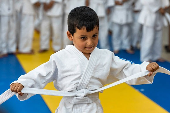 IJF refugee camp project featured in #JudoForTheWorld video