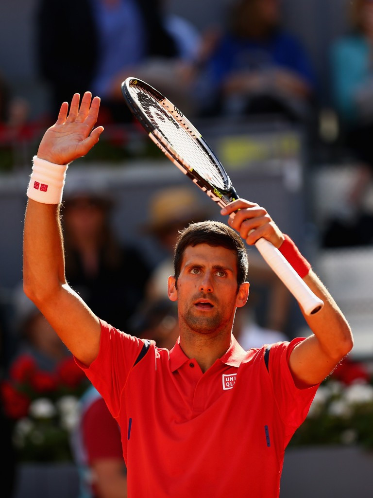 Djokovic bounces back from shock defeat with victory at Mutua Madrid Open