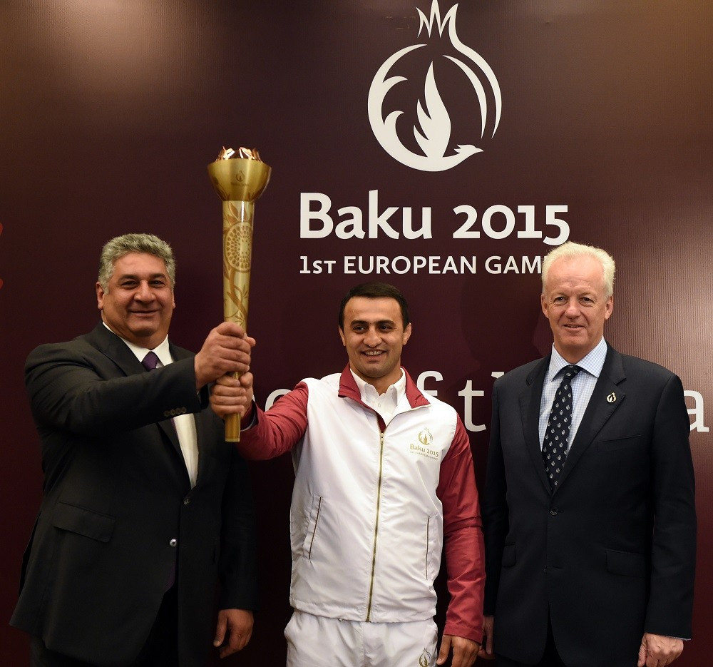 Baku 2015 announces details of Flame journey through host city