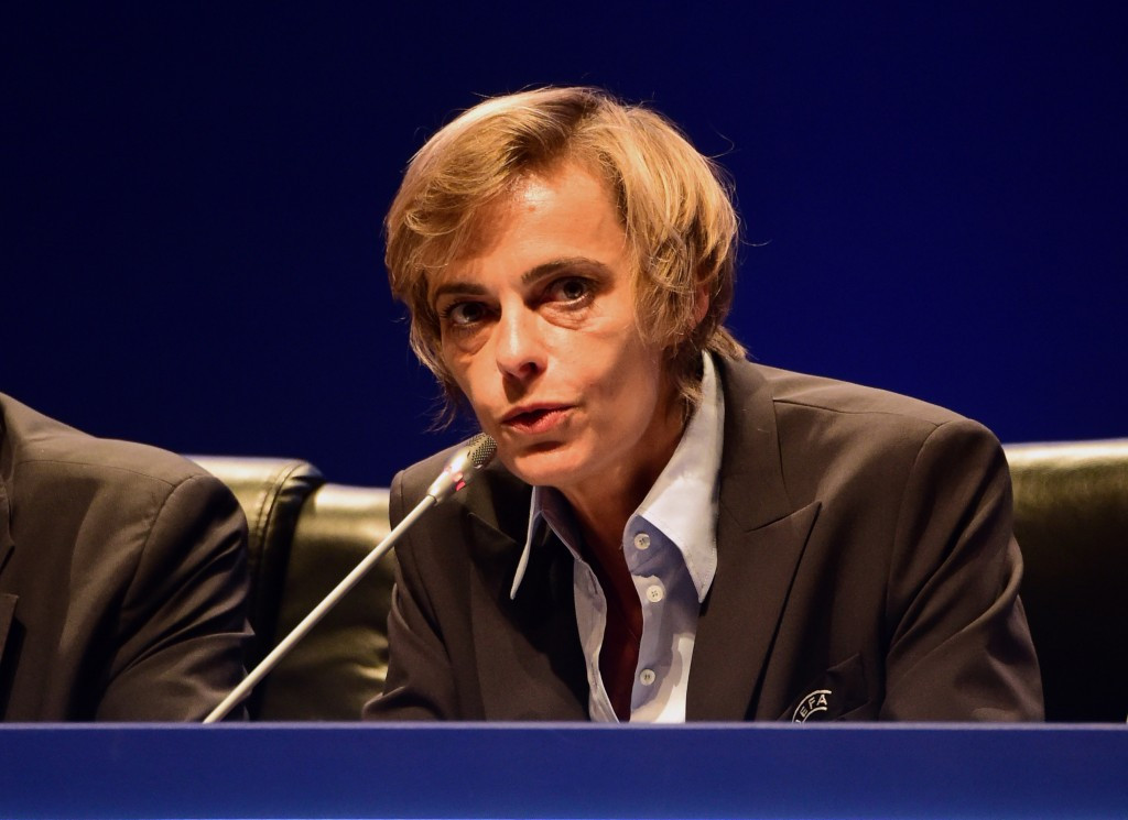 French Football Federation's general manager elected UEFA's first female member