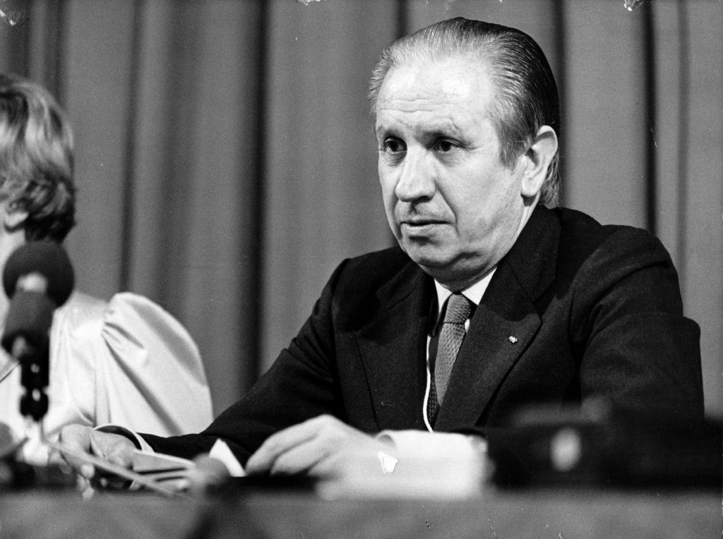 Spain's Juan Antonio Samaranch was elected IOC President at the Session in 1980, a post he held for 21 years ©Getty Images