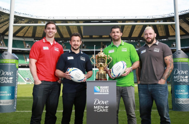 World Rugby unveil Dove Men + Care as official grooming supplier for 2015 World Cup